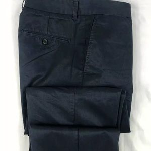 Ermenegildo Zegna Blue Cotton Pants Size 32x30
